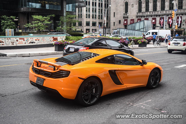 Mclaren MP4-12C spotted in Toronto, Canada