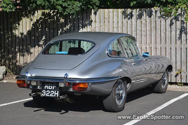 Jaguar E-Type spotted in Bawtry, United Kingdom