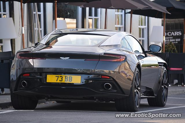 Aston Martin DB11 spotted in Bawtry, United Kingdom
