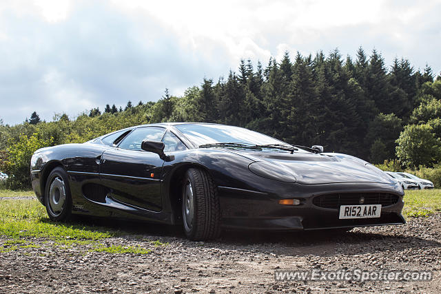 Jaguar XJ220 spotted in Nürburg, Germany