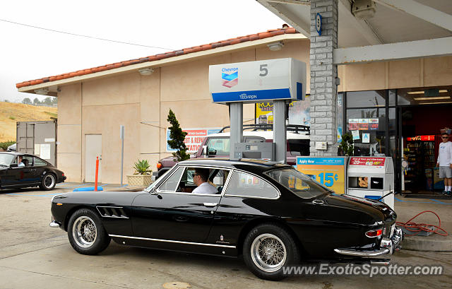Ferrari 330 GTC spotted in Malibu, California