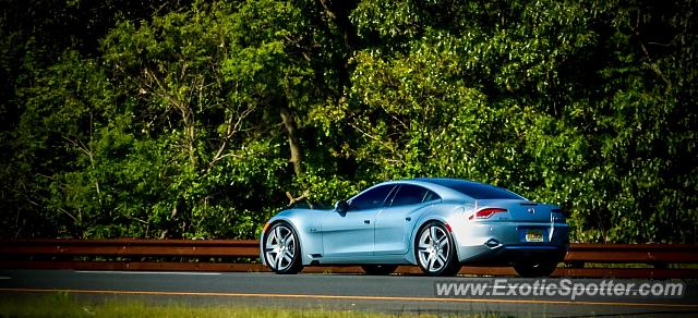 Fisker Karma spotted in Wall Township, New Jersey