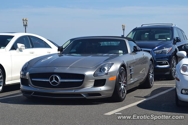 Mercedes SLS AMG spotted in Long Branch, New Jersey