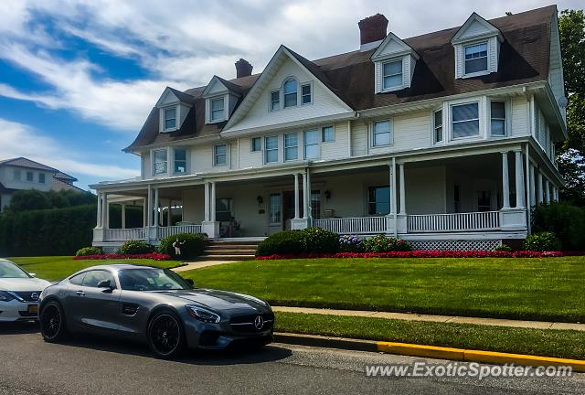 Mercedes AMG GT spotted in Allenhurst, New Jersey