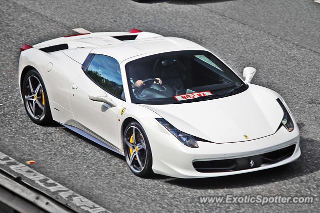 Ferrari 458 Italia spotted in Bramham, United Kingdom on ...