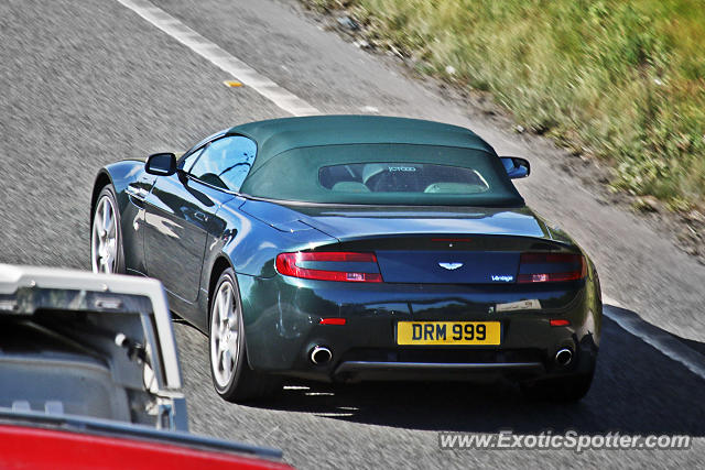 Aston Martin Vantage spotted in Boston Spa, United Kingdom