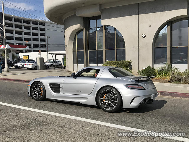 Mercedes SLS AMG spotted in Beverly Hills, California
