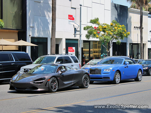 Mclaren 720S spotted in Beverly Hills, California