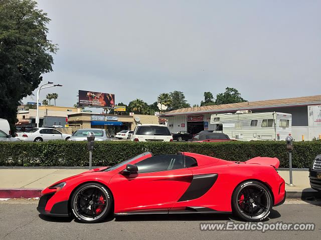 Mclaren 675LT spotted in Encino, California