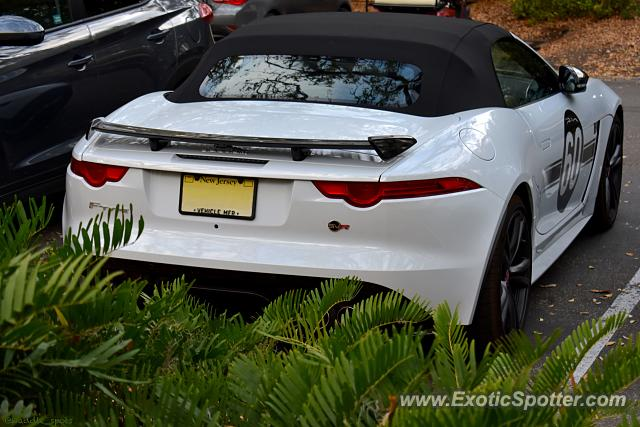 Jaguar F-Type spotted in Amelia Island, Florida