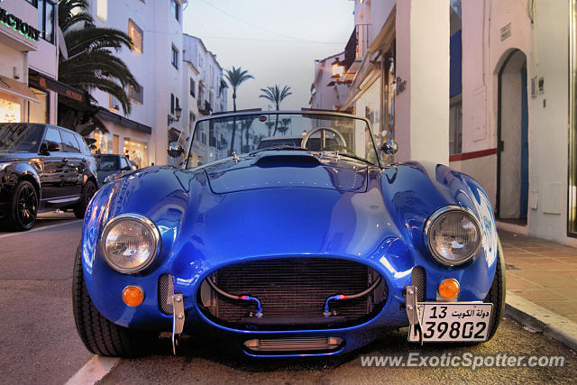 Shelby Cobra spotted in Puerto Banus, Spain