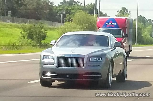 Rolls-Royce Wraith spotted in Tampa, Florida