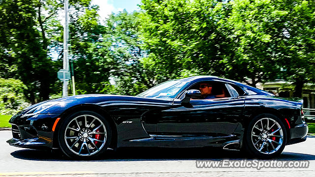 Dodge Viper spotted in Canandaigua, New York