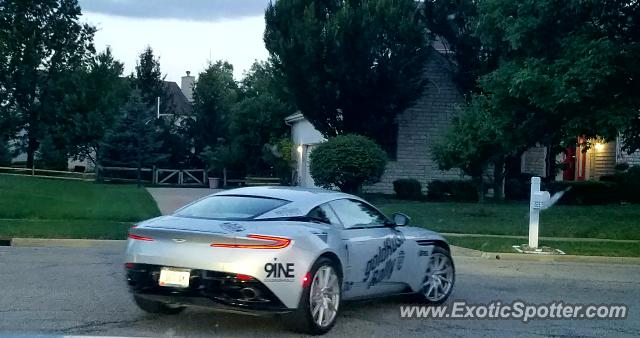Aston Martin DB11 spotted in New Albany, Ohio