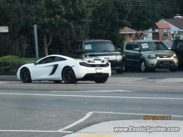 Mclaren MP4-12C spotted in Mechanicsburg, Pennsylvania
