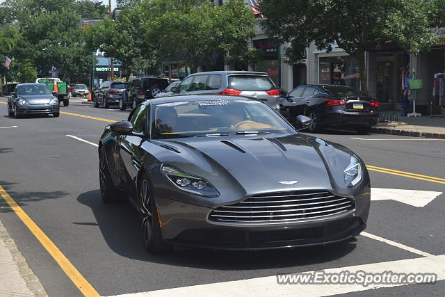 Aston Martin DB11 spotted in Summit, New Jersey