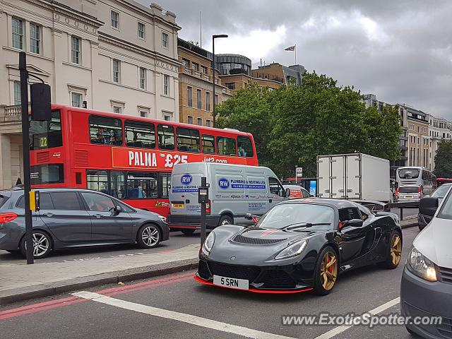 Lotus Exige spotted in London, United Kingdom