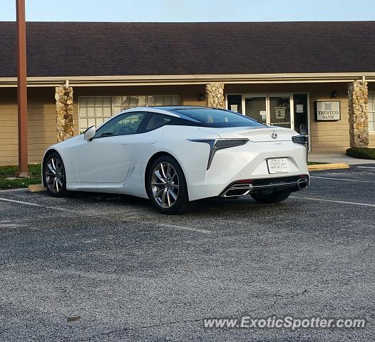 Lexus LC 500 spotted in Orlando, United States