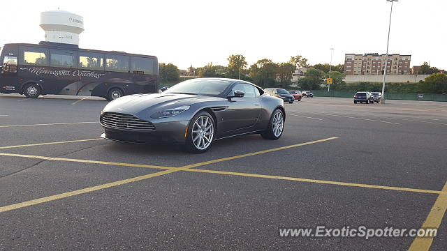 Aston Martin DB11 spotted in Minnetonka, Minnesota