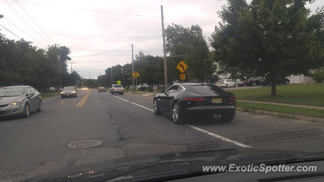 Jaguar F-Type spotted in Brick, New Jersey