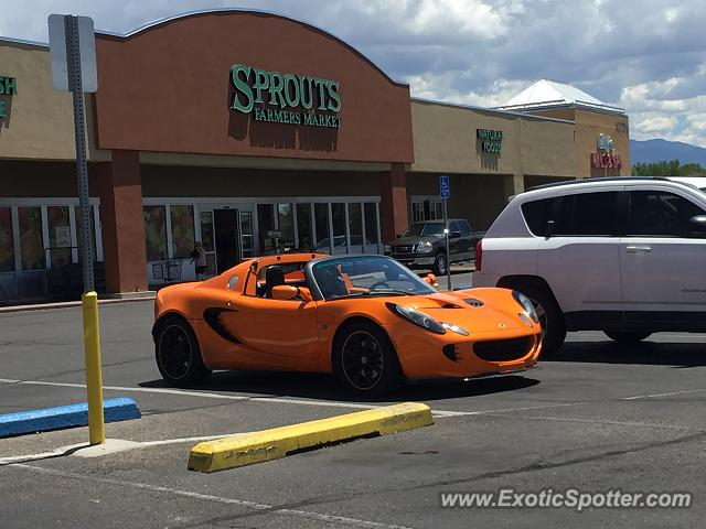 Lotus Elise spotted in Albuquerque, New Mexico