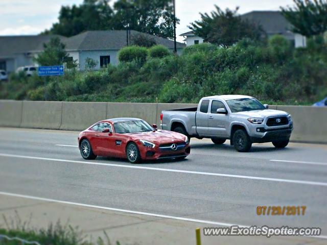 Mercedes amg gt spotted in mechanicsburg pennsylvania on for Mercedes benz mechanicsburg