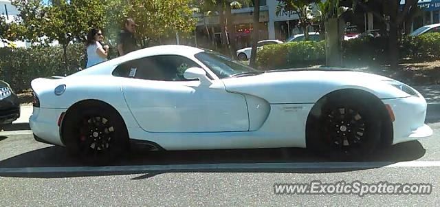Dodge Viper spotted in Sarasota, Florida