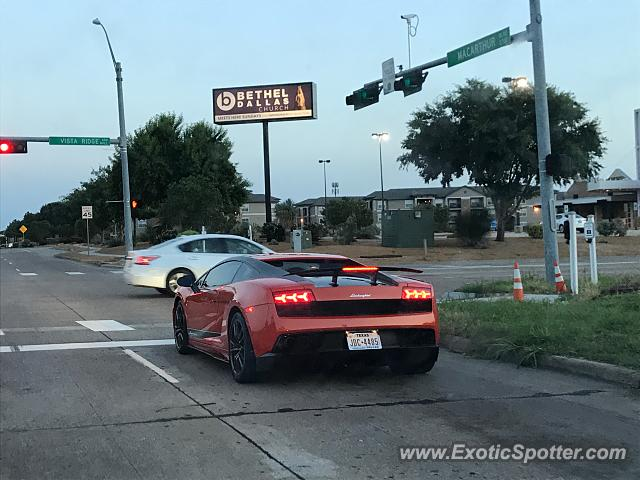 Lamborghini Gallardo spotted in Coppell, Texas