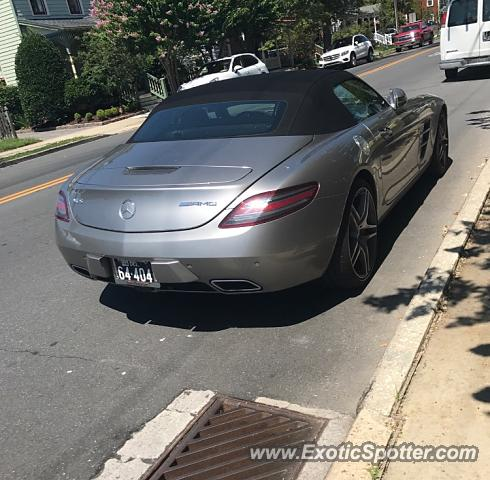 Mercedes SLS AMG spotted in Lewes, Delaware