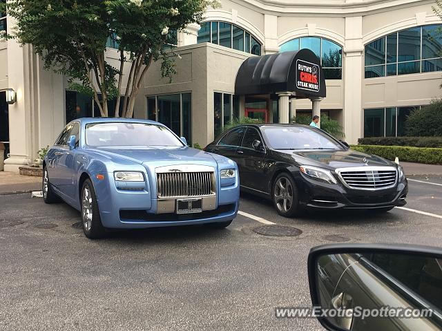 Rolls-Royce Ghost spotted in Ponte Vedra, Florida