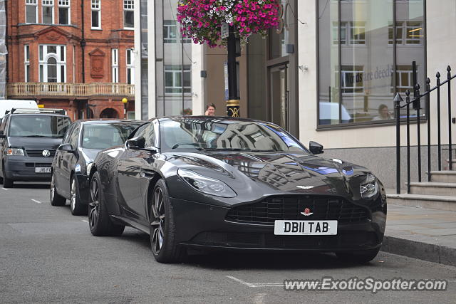 Aston Martin DB11 spotted in London, United Kingdom