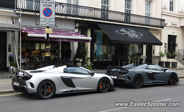 Mclaren 675LT spotted in London, United Kingdom