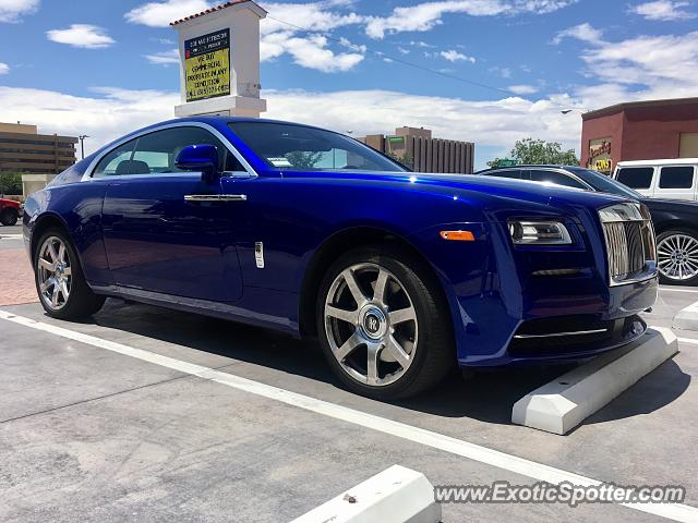 Rolls-Royce Wraith spotted in Albuquerque, New Mexico