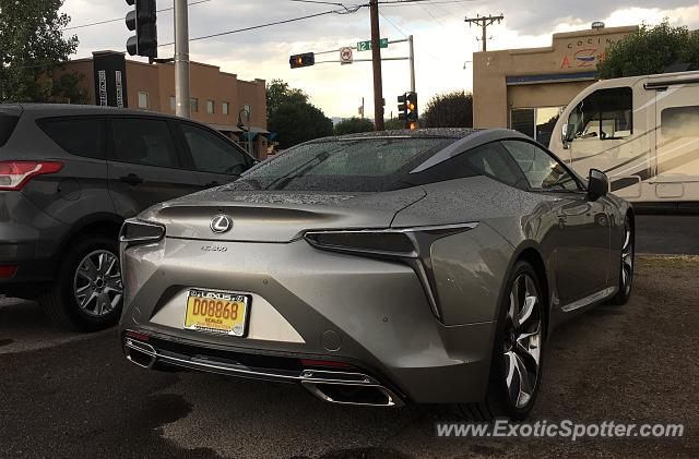 Lexus LC 500 spotted in Albuquerque, New Mexico