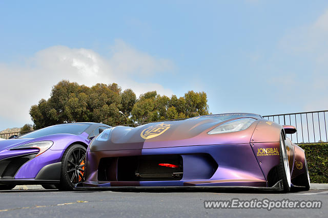 Chevrolet Corvette Z06 spotted in Malibu, California