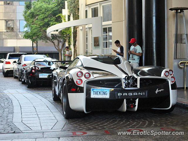 Pagani Huayra spotted in Beverly Hills, California