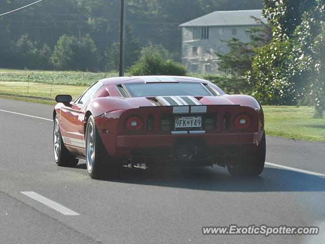 Ford GT spotted in Mardela Springs, Maryland