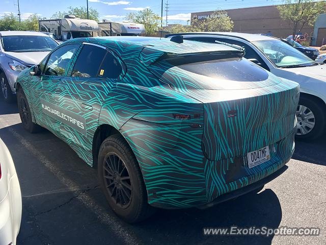 Jaguar F-Type spotted in Las Vegas, Nevada