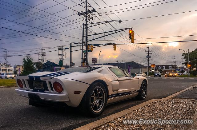 Ford GT spotted in Ship Bottom, New Jersey