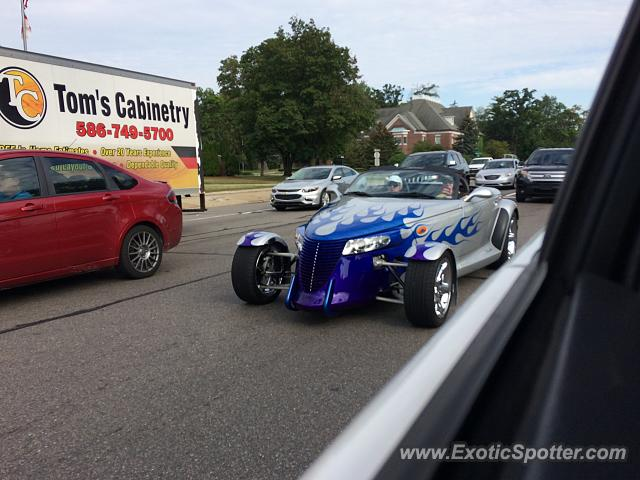Plymouth Prowler spotted in Birmingham, Michigan