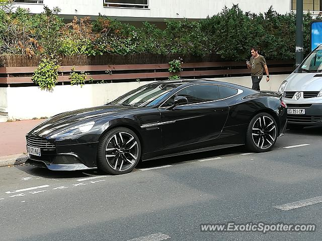 aston martin vanquish spotted in saint mand france on 08 16 2017. Black Bedroom Furniture Sets. Home Design Ideas