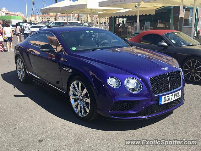 Bentley Continental spotted in Vilamoura, Portugal