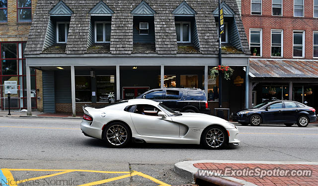 Dodge Viper spotted in Boone, North Carolina