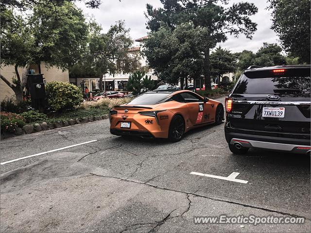 Lexus LC 500 spotted in Carmel, California