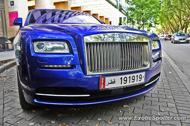 Rolls-Royce Wraith spotted in Düsseldorf, Germany