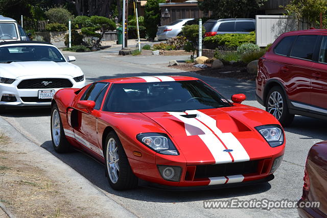 Ford GT spotted in Carmel, California