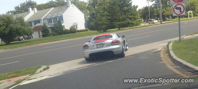 Dodge Viper spotted in Brick, New Jersey