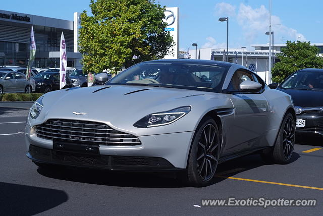 Aston Martin DB11 spotted in Auckland, New Zealand