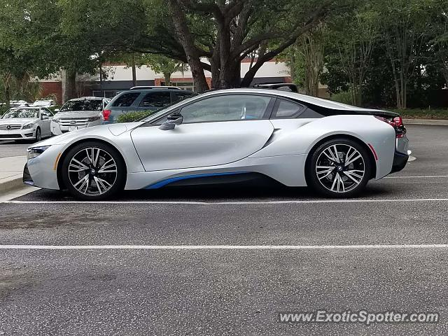 BMW I8 spotted in Charleston, South Carolina