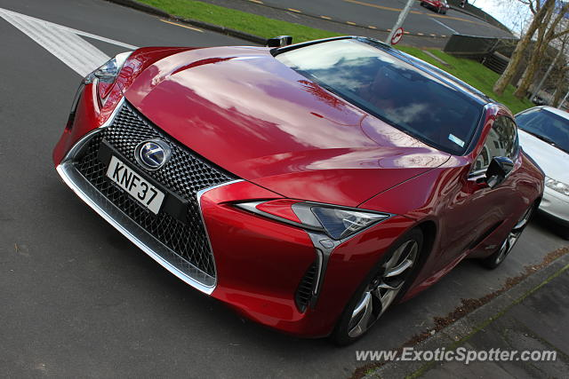 Lexus LC 500 spotted in Auckland, New Zealand